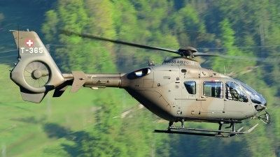Photo ID 210281 by Sven Zimmermann. Switzerland Air Force Eurocopter EC 635P2, T 365