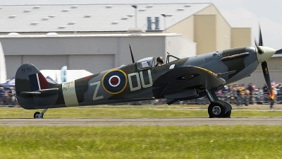 Photo ID 210437 by Aaron C. Rhodes. Private Flying Heritage Collection Supermarine 349 Spitfire LF5C, NX614VC