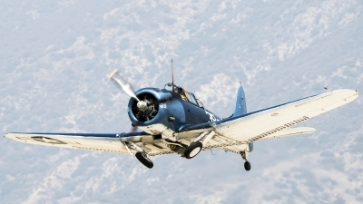 Photo ID 210478 by W.A.Kazior. Private Planes of Fame Air Museum Douglas SBD 5 Dauntless, NX670AM