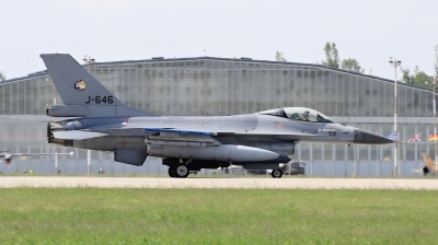 Photo ID 210507 by Milos Ruza. Netherlands Air Force General Dynamics F 16AM Fighting Falcon, J 646