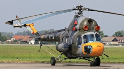 Photo ID 210520 by Milos Ruza. Czech Republic Air Force Mil Mi 2, 0718