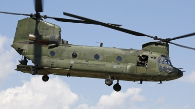 Photo ID 210524 by Fernando Sousa. Netherlands Air Force Boeing Vertol CH 47D Chinook, D 101
