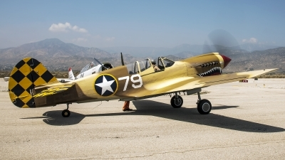 Photo ID 210576 by W.A.Kazior. Private Planes of Fame Air Museum Curtiss P 40N Warhawk, N85104
