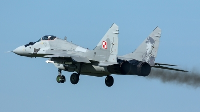 Photo ID 210607 by Thomas Ziegler - Aviation-Media. Poland Air Force Mikoyan Gurevich MiG 29A 9 12A, 111