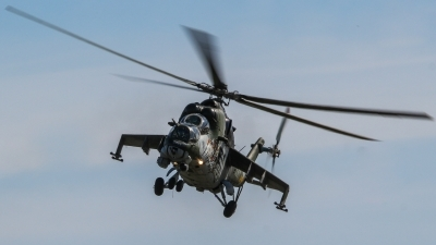 Photo ID 210613 by Justin Jundel. Czech Republic Air Force Mil Mi 24V, 3361