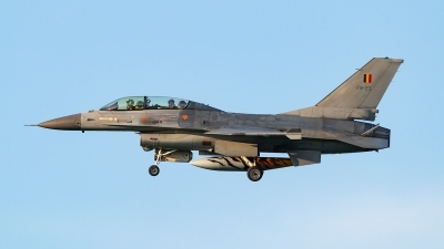 Photo ID 210654 by markus altmann. Belgium Air Force General Dynamics F 16BM Fighting Falcon, FB 23