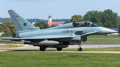 Photo ID 210764 by Thomas Ziegler - Aviation-Media. Germany Air Force Eurofighter EF 2000 Typhoon T, 30 95