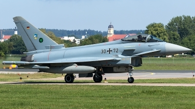 Photo ID 210650 by Thomas Ziegler - Aviation-Media. Germany Air Force Eurofighter EF 2000 Typhoon S, 30 72