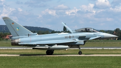 Photo ID 210645 by Thomas Ziegler - Aviation-Media. Germany Air Force Eurofighter EF 2000 Typhoon S, 30 11