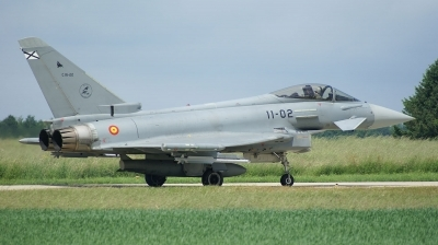 Photo ID 24709 by Janssens Ronny. Spain Air Force Eurofighter C 16 Typhoon EF 2000, C 16 22