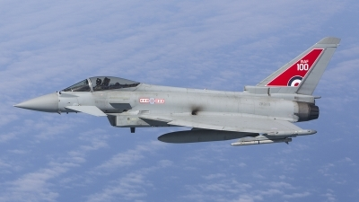 Photo ID 210895 by Tom Gibbons. UK Air Force Eurofighter Typhoon FGR4, ZK318