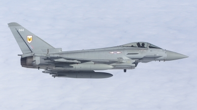 Photo ID 210939 by Tom Gibbons. UK Air Force Eurofighter Typhoon FGR4, ZK344