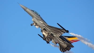 Photo ID 221312 by Kampitoglou Dimitrios. Belgium Air Force General Dynamics F 16AM Fighting Falcon, FA 123