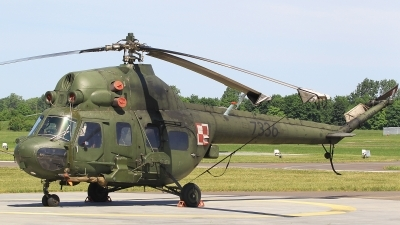Photo ID 210981 by Barry Swann. Poland Army Mil Mi 2URP, 7336