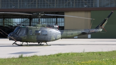 Photo ID 24625 by Karl Drage. Germany Air Force Bell UH 1D Iroquois 205, 71 69