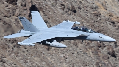 Photo ID 210989 by Hans-Werner Klein. USA Navy Boeing EA 18G Growler, 169214