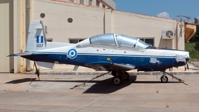Photo ID 211016 by Carl Brent. Greece Air Force Raytheon T 6A Texan II, 007