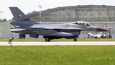 Photo ID 211100 by Alfred Koning. Netherlands Air Force General Dynamics F 16AM Fighting Falcon, J 646