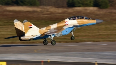 Photo ID 211017 by Sergey. Egypt Air Force Mikoyan Gurevich MiG 29M2, 811