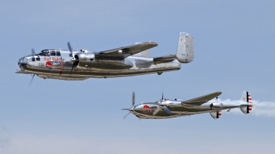 Photo ID 211030 by Milos Ruza. Private Red Bull Lockheed P 38L Lightning, N25Y