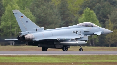 Photo ID 211070 by Maurice Kockro. Germany Air Force Eurofighter EF 2000 Typhoon S, 30 70