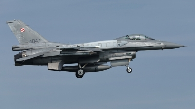 Photo ID 211090 by Rainer Mueller. Poland Air Force General Dynamics F 16C Fighting Falcon, 4047