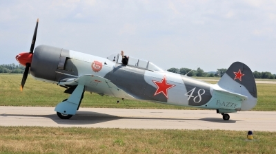 Photo ID 211113 by Milos Ruza. Private Private Yakovlev Yak 3UA, F AZZK