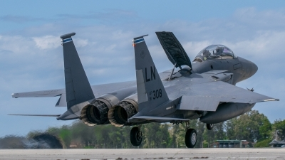 Photo ID 211124 by John Pitsakis. USA Air Force McDonnell Douglas F 15E Strike Eagle, 91 0308