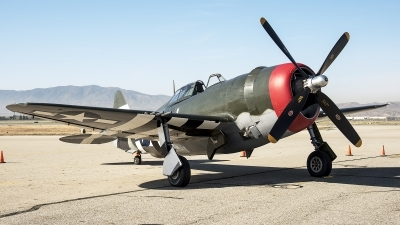 Photo ID 211125 by W.A.Kazior. Private Planes of Fame Air Museum Republic P 47G Thunderbolt, N3395G