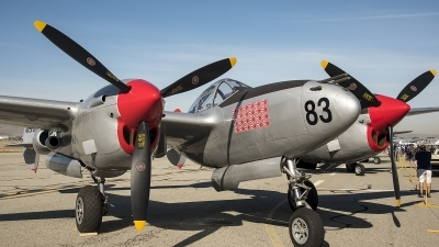 Photo ID 211129 by W.A.Kazior. Private Planes of Fame Air Museum Lockheed P 38L Lightning, N505MH