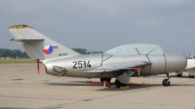 Photo ID 211436 by Milos Ruza. Private Czech Flying Legends Mikoyan Gurevich MiG 15UTI, OK UTI