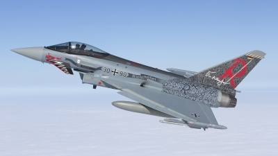 Photo ID 211213 by Tom Gibbons. Germany Air Force Eurofighter EF 2000 Typhoon S, 30 90