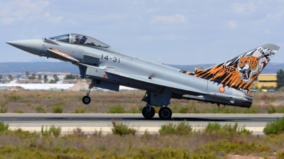 Photo ID 211230 by Alberto Gonzalez. Spain Air Force Eurofighter C 16 Typhoon EF 2000S, C 16 71