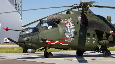 Photo ID 211226 by Alfred Koning. Poland Army Mil Mi 24W, 739