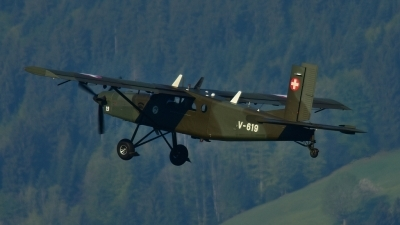 Photo ID 234631 by Sven Zimmermann. Switzerland Air Force Pilatus PC 6 B2 H2M 1 Turbo Porter, V 619