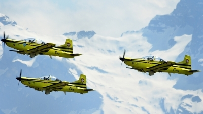 Photo ID 211521 by Sven Zimmermann. Switzerland Air Force Pilatus PC 9, C 411