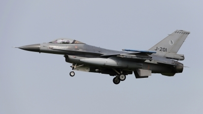Photo ID 211269 by Frank Kloppenburg. Netherlands Air Force General Dynamics F 16AM Fighting Falcon, J 201