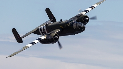 Photo ID 211299 by Aaron C. Rhodes. Private Historic Flight Foundation North American B 25D Mitchell, N88972