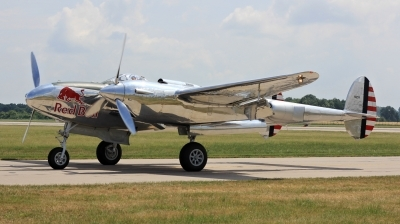 Photo ID 211291 by Milos Ruza. Private Red Bull Lockheed P 38L Lightning, N25Y