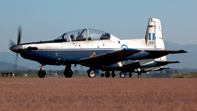 Photo ID 211348 by Carl Brent. Greece Air Force Raytheon T 6A Texan II, 031