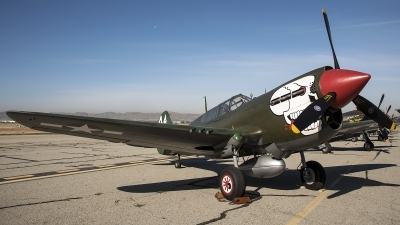 Photo ID 211321 by W.A.Kazior. Private Hangar 11 Collection Curtiss P 40M Warhawk, G KITT