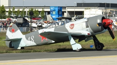 Photo ID 211342 by W.A.Kazior. Private Private Yakovlev Yak 3UA, F AZZK