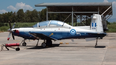 Photo ID 211370 by Carl Brent. Greece Air Force Raytheon T 6A Texan II, 035