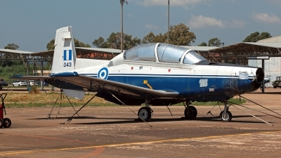 Photo ID 211369 by Carl Brent. Greece Air Force Raytheon T 6A Texan II, 043