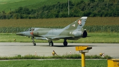 Photo ID 211516 by Martin Thoeni - Powerplanes. Switzerland Air Force Dassault Mirage IIIRS, R 2101