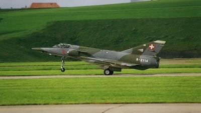 Photo ID 211517 by Martin Thoeni - Powerplanes. Switzerland Air Force Dassault Mirage IIIRS, R 2114