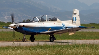 Photo ID 211410 by Carl Brent. Greece Air Force Raytheon T 6A Texan II, 040