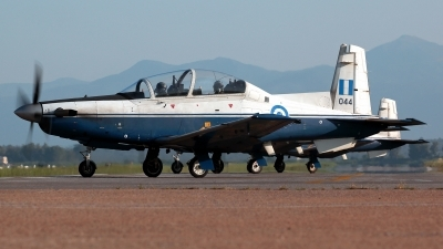 Photo ID 211412 by Carl Brent. Greece Air Force Raytheon T 6A Texan II, 044