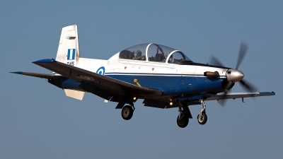 Photo ID 211458 by Carl Brent. Greece Air Force Raytheon T 6A Texan II, 045