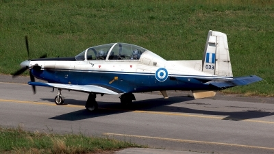Photo ID 211457 by Carl Brent. Greece Air Force Raytheon T 6A Texan II, 033